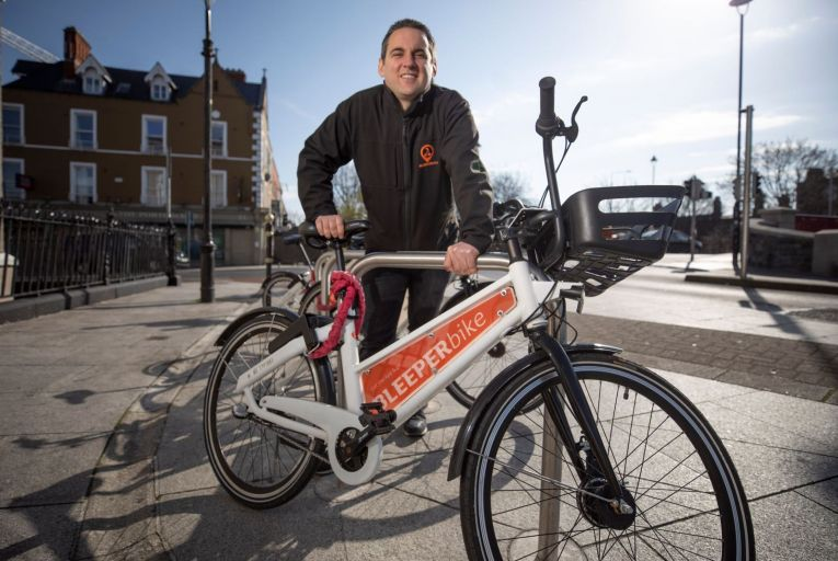 Hugh Cooney, chief executive of Bleeperbike, said the company hoped to launch a subscription model in early May. Picture: Fergal Phillips