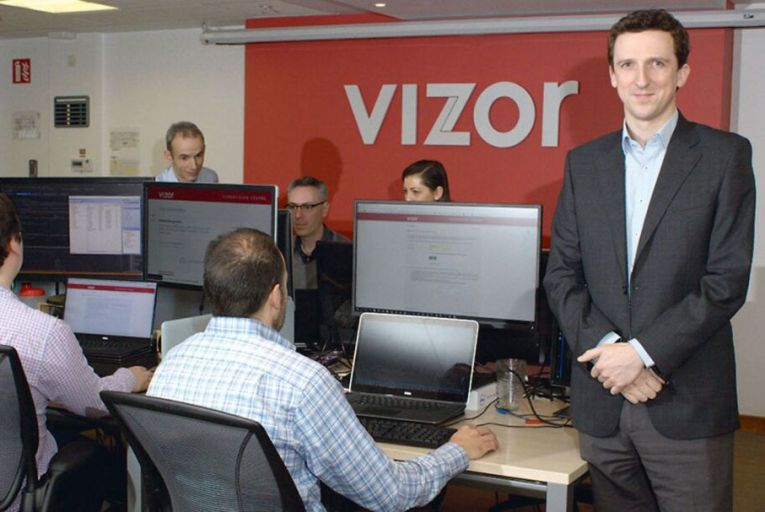 Vizor was established in 2000 by entrepreneurs Conor Crowley, pictured, and Ross Kelly.