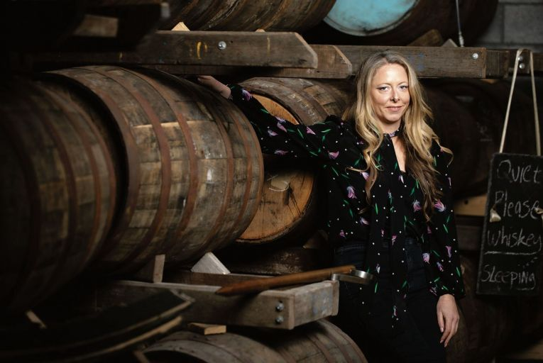 Louise McGuane: 'The whiskey business is highly capital-intensive'. Picture: Alan Place