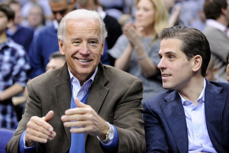 The Irish movie makers have raised $1.65 million of the anticipated $2.5 million they need to finance the film about Hunter Biden. Picture: Nick Wass