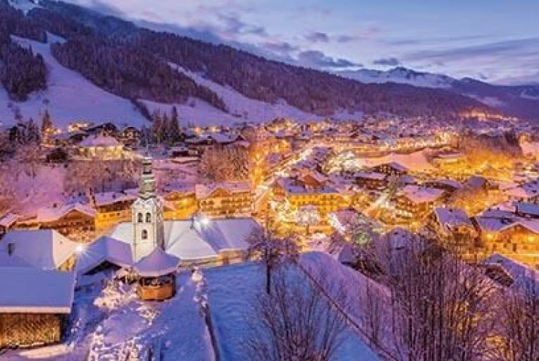 Morzine in the French Alps: ski packages start at €800 Picture: Getty
