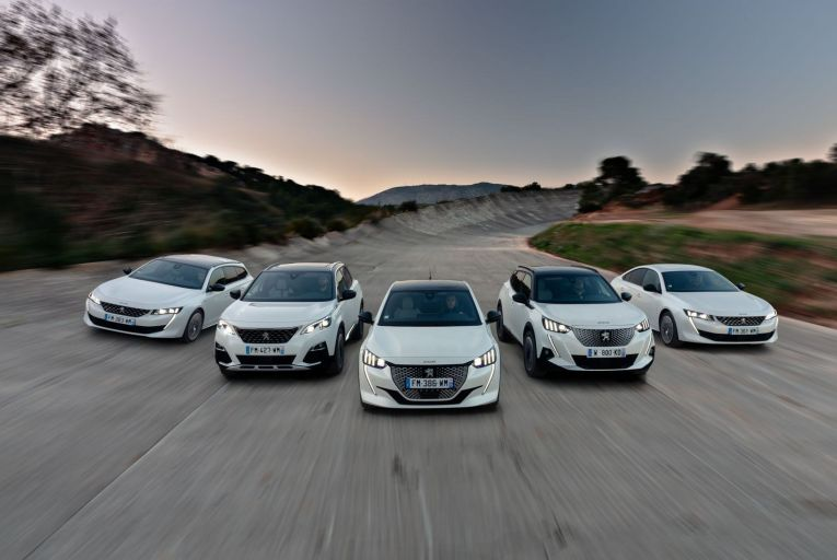 New models lead Peugeot's charge of the electric brigade