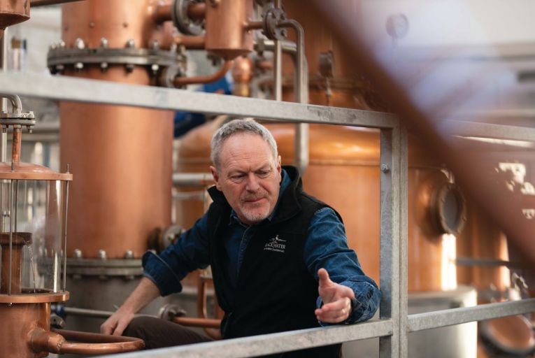 Peter Mulryan, chief executive of Blackwater Distillery in Waterford: 'Thanks to lockdown more people are experimenting with cocktails at home'