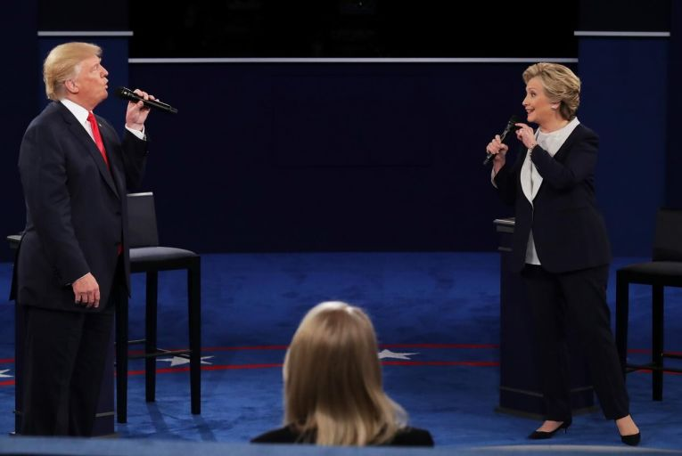 US presidential election: a chaotic penultimate debate