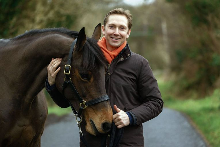 Dr Heinrich Anhold, CEO of Sligo based equine blood test company StableLab. Picture: James Connolly