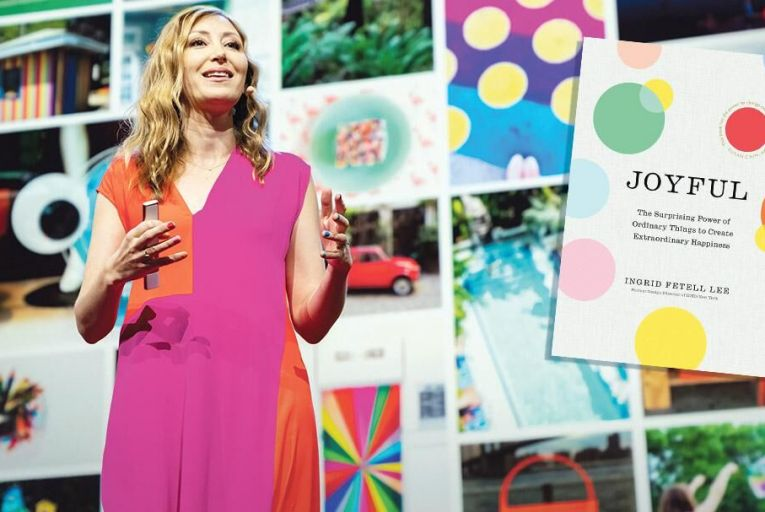 Ingrid Fetell Lee argues that joy is all around us