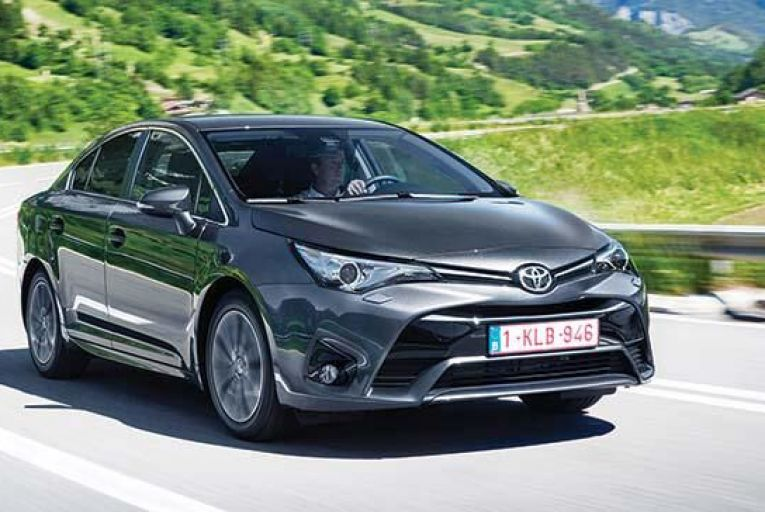This year's Toyota Avensis gets a whole new look