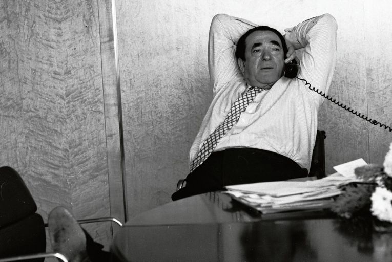 Robert Maxwell emerges in this biography as a fundamentally sad character, someone who bullied the weak because he didn't know how to have a proper relationship with anyone. Photo: Getty