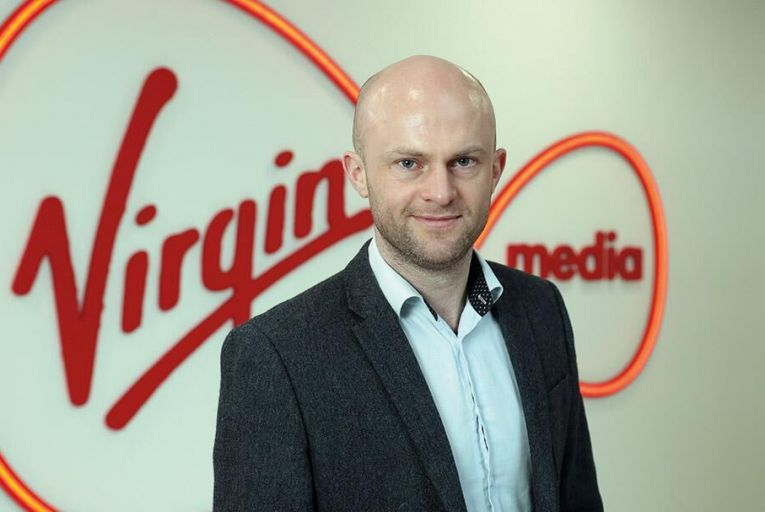 Aidan D'Arcy, head of  business division of Virgin  Media Ireland Picture: Jason Clarke