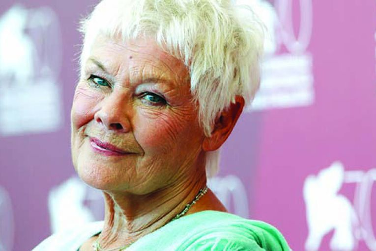 Judi Dench: 'Nothing is good about getting older. Nothing. After a certain age, you're meant to pack it up, but I have no inkling to do so. The idea of putting my feet up fills me with dread' Picture: David Azia/Getty
