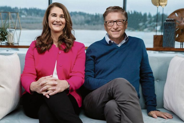Bill Gates, the Microsoft co-founder, and his wife Melinda, who have a combined fortune of €124 billion, announced on Twitter that they are to divorce after 27 years