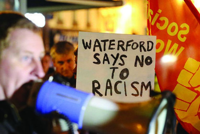Waterford is left divided over Roma 'racism' row