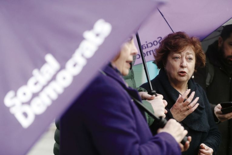 The Social Democrats had a disappointing performance in the by-elections. Picture: Leah Farrell/RollingNews