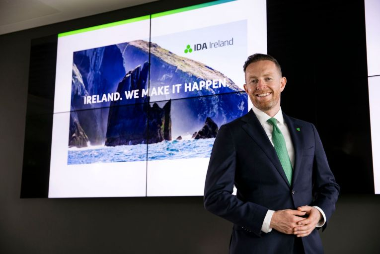 Kevin Sammon, director of global communications and marketing at IDA Ireland: 'It's a very big outlay for us' PIcture: Chris Bellew