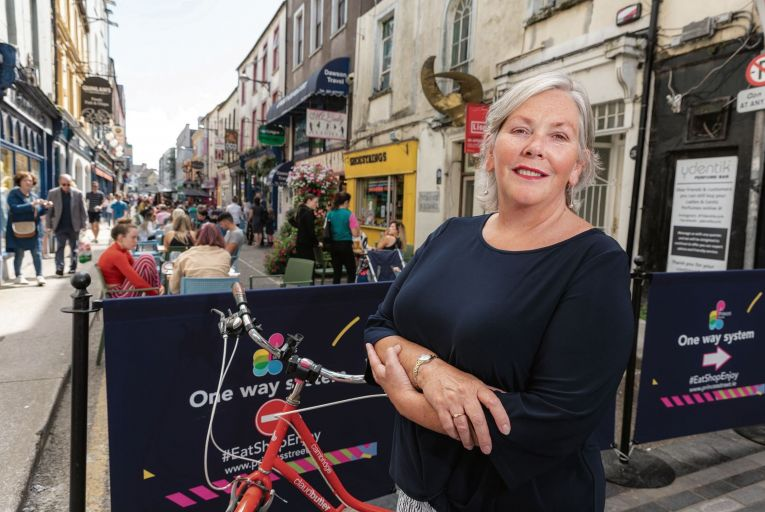 Ann Doherty, chief executive of Cork City Council: 'This framework is designed to improve the quality of life for our residents by, for example, developing the concept of the 15-minute city.' Picture: John Allen