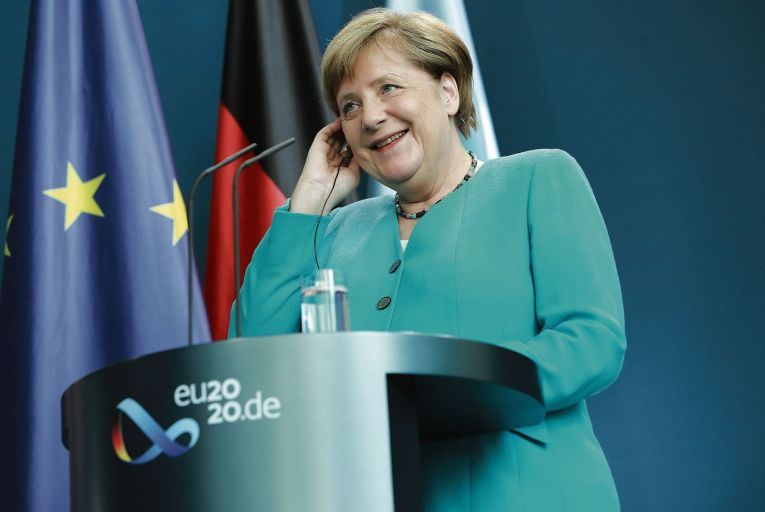 Merkel poised to boldly go where never before to save future of EU