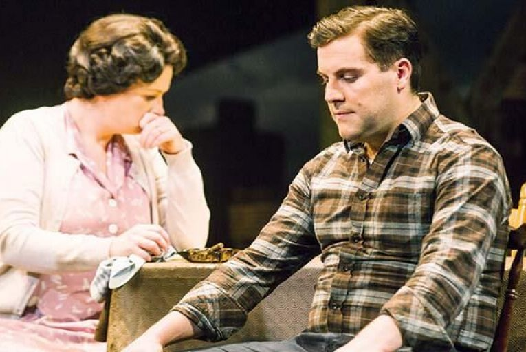 Niamh McCann and Peter Coonan in A View From The Bridge