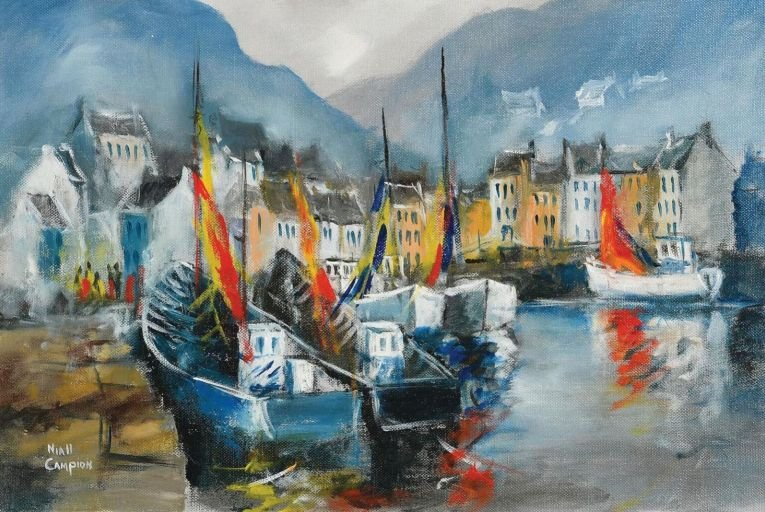 Sunny reception forecast for Morgan O'Driscoll online auction