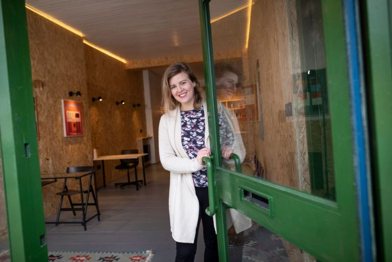 Lauren Tuite of D8 Developments: engages with owners of vacant buildings to renovate them and bring them back into use. Picture: Fergal Phillips