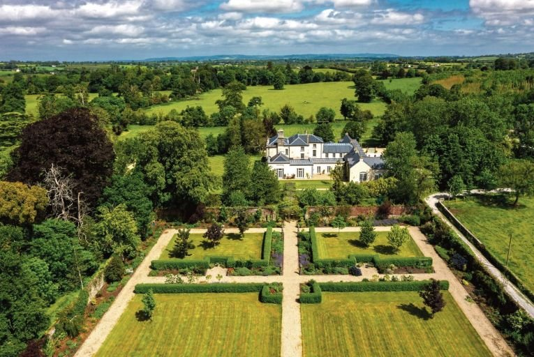 Kilmurry House in Co Kilkenny has an art gallery and an indoor pool