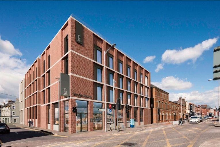 Plans for Broga House, a student accommodation development with 280 bed spaces, in Cork