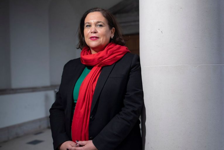 Mary Lou McDonald, Sinn Féin leader: the party is mounting a large promotional drive in the American media Pic: Fergal Phillips