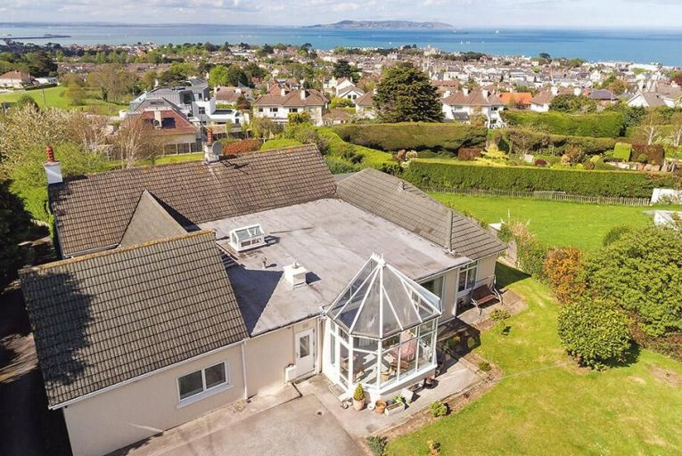 Dalkey bungalow with panoramic views of Dublin Bay