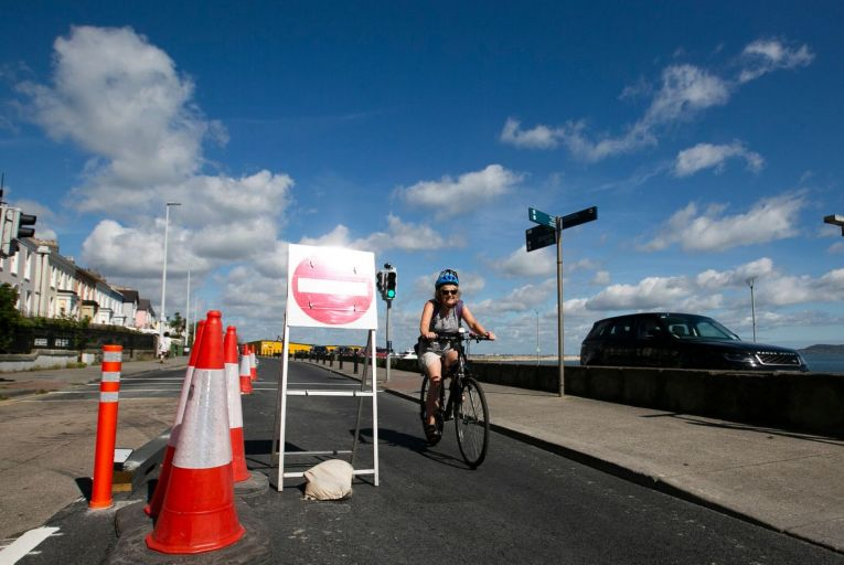 Some €360 million a year has been budgeted in the NDP to support the delivery of 1,000km of new and improved walking and cycling infrastructure by 2025. Picture: Sam Boal/RollingNews.ie