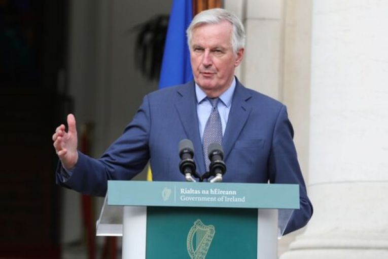 Michel Barnier, the EU's lead negotiator on Brexit: 'He and his team faced a reality none of us wanted and made the best of it.' Picture: Rollingnews.ie