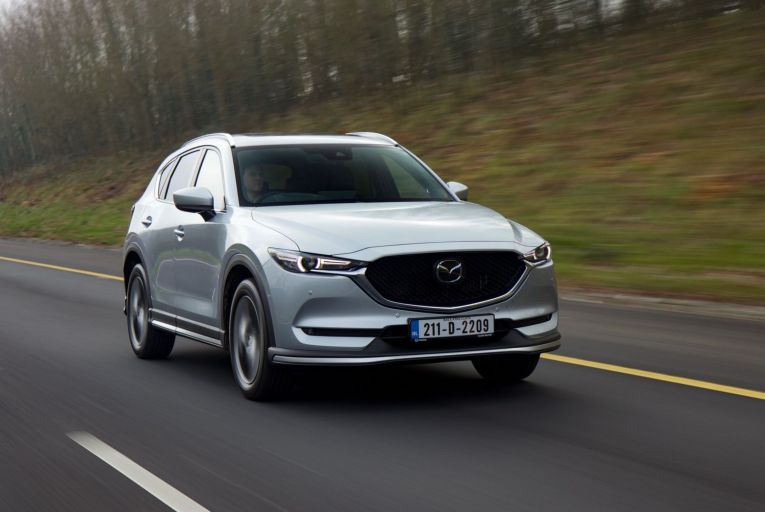 The Mazda CX-5 has a starting price of about €34,000