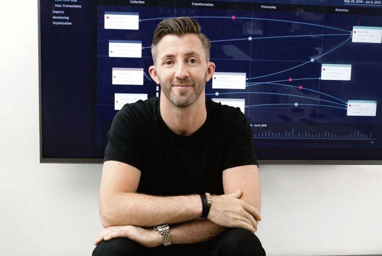 Cillian Kieran, chief executive of Ethyca, a data privacy business