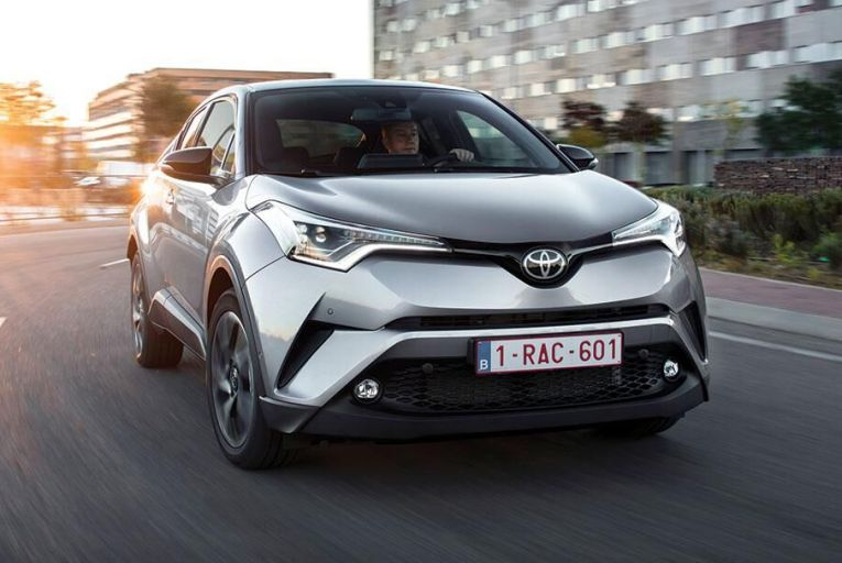 The new Toyota C–HR is  head and shoulders above  anything else in the class  in quality terms