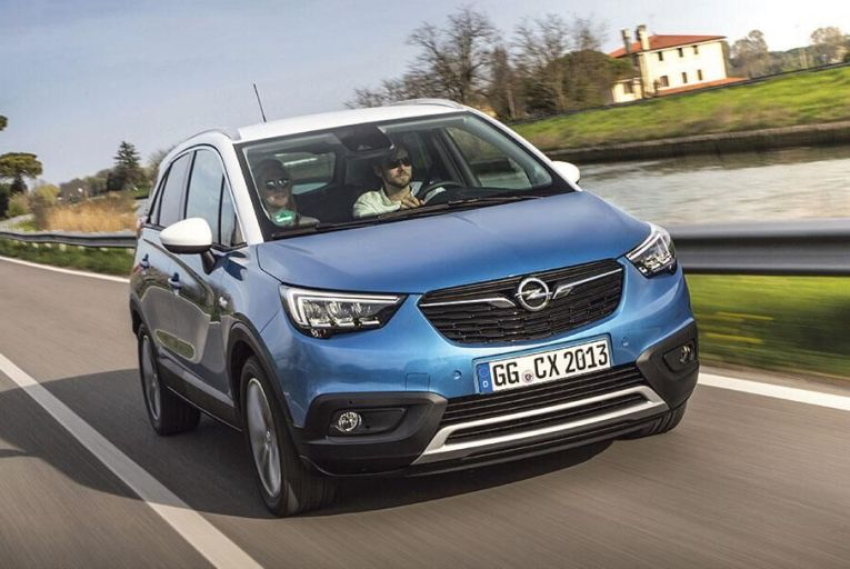 The new Opel Crossland X offers  down-to-earth honesty