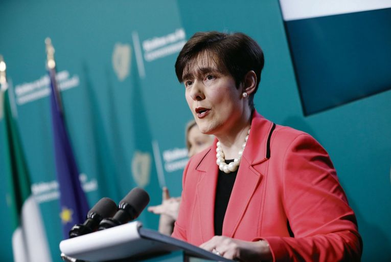 Norma Foley, Minister for Education: proposal to draft bill to implement the change to truancy regulations. Picture: RollingNews