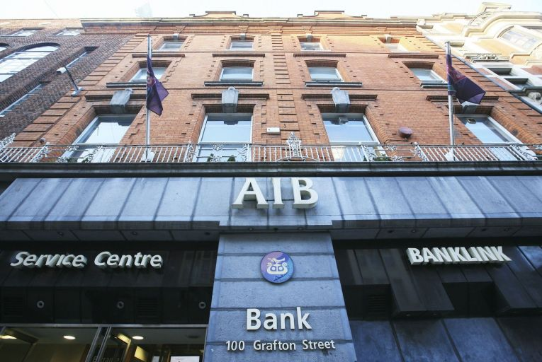 AIB this morning announced that it had entered into a 'binding agreement' with NatWest, Ulster Bank's parent company, to buy the majority of the bank's performing corporate and commercial loan book. Picture: Rollingnews.ie