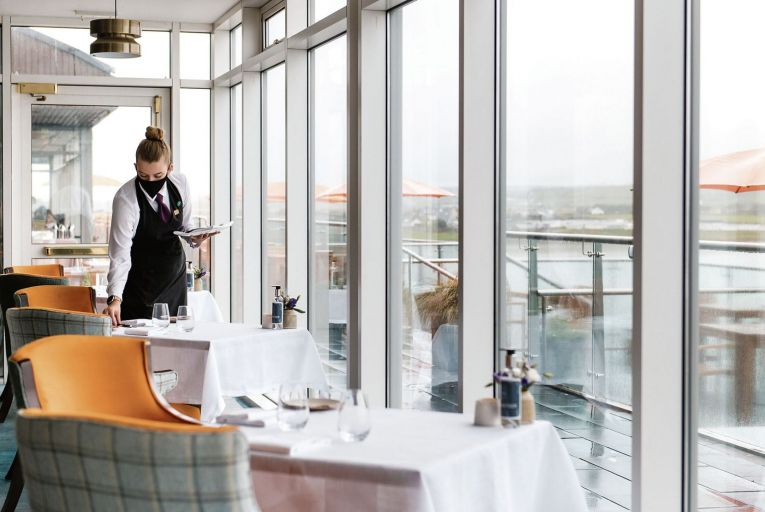 House at the Cliff House Hotel in Ardmore provides a soul-restoring evening