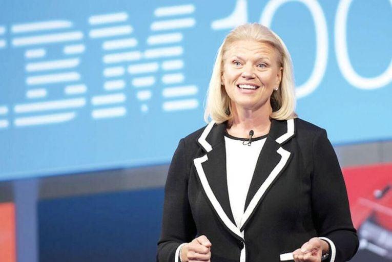 IBM chief executive Ginni Rometty Pic: Getty