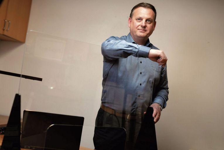 Terry Byrne, founder of Pro-Light Design & Technology      Fergal Phillips