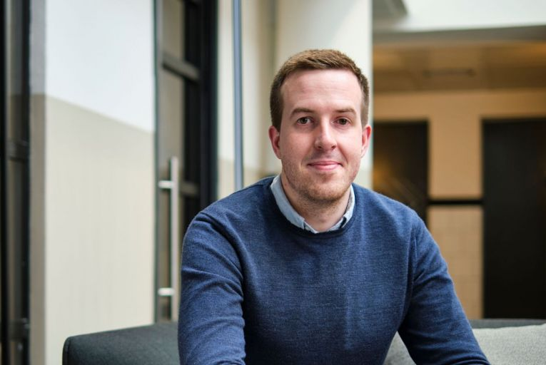 Cormac Quinn, founder and chief executive of Loyalbe: the company aims to eliminate paper loyalty cards with its mobile app