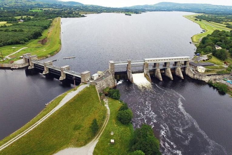 Water could be taken from the Parteen Basin in Co Tipperary  to supply water to Dublin Picture: Old River Shannon Trust