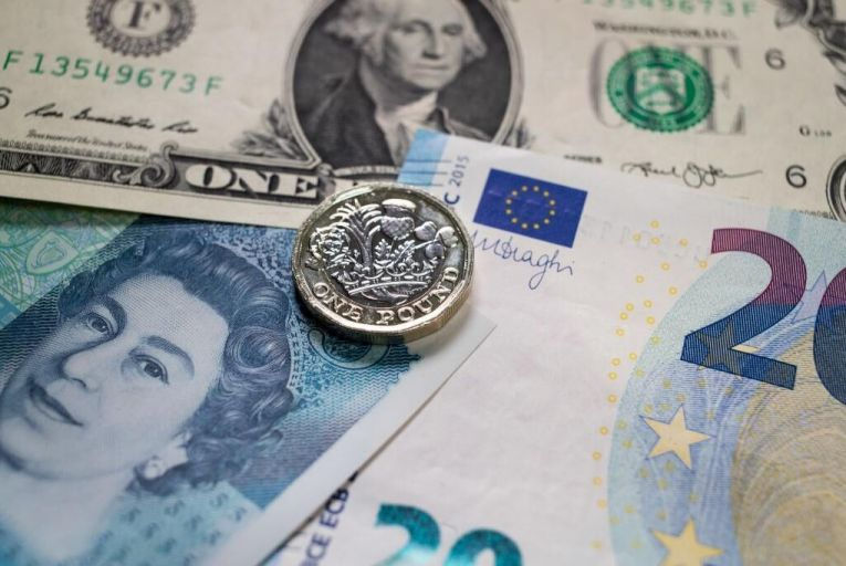 Political uncertainty is dragging sterling lower Pic: Getty