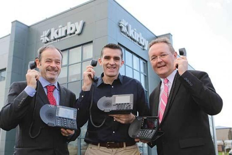 Kirby saves €15,000 with VoIP technology