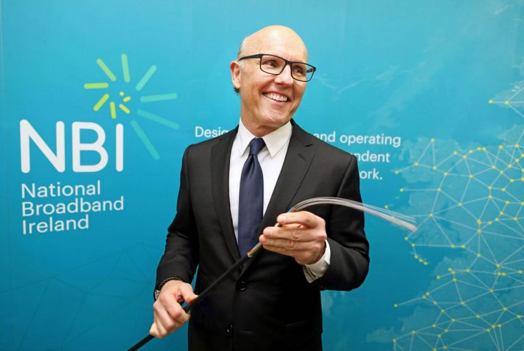 David McCourt of National Broadband Ireland formerly controlled Enet. He left the business fully in 2018. Picture: Julien Behal