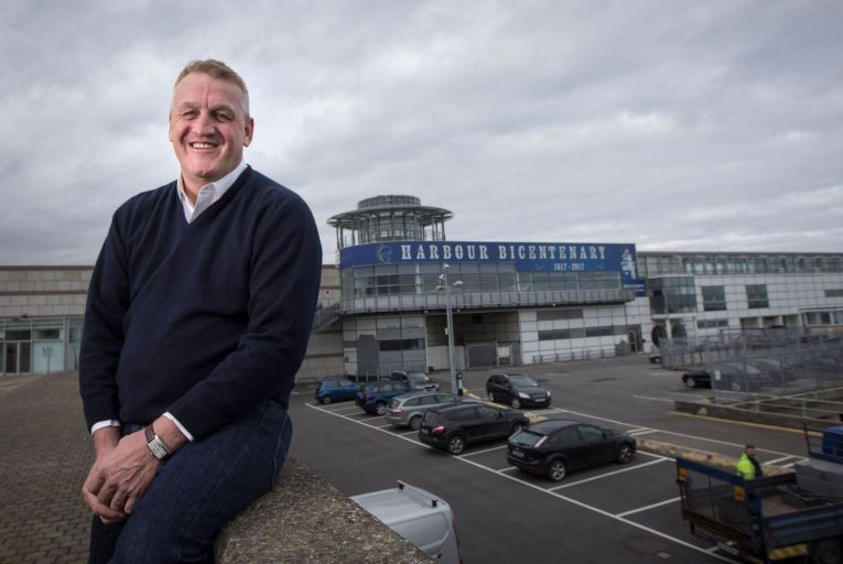 Philip Gannon: his plans with Ian Lucey to build a €20 million innovation hub at Dún Laoghaire harbour have been cancelled. Picture: Fergal Phillips