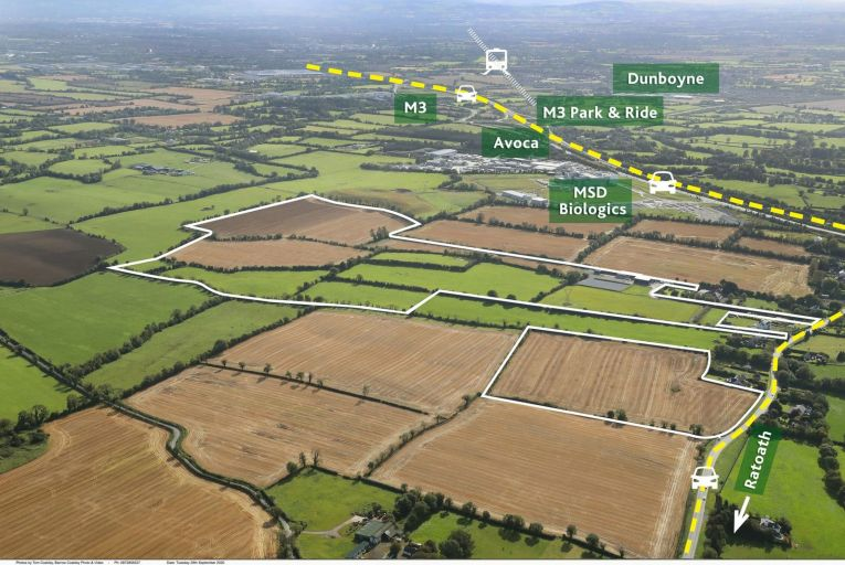 Meath farming land of 104 acres for sale in one or two lots