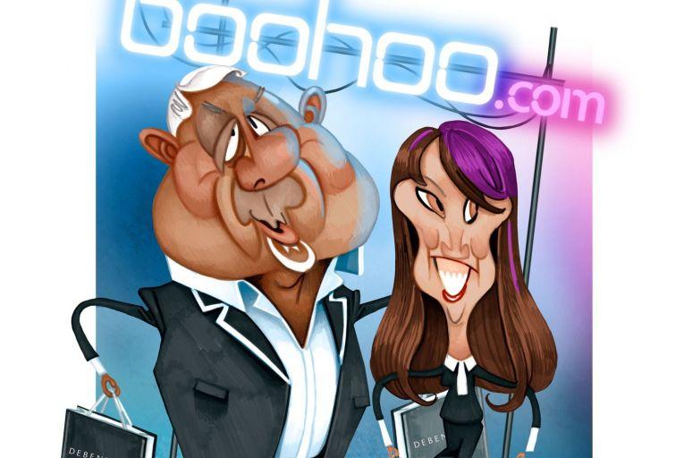The Profile: Mahmud Kamani and Carol Kane, owners of Boohoo