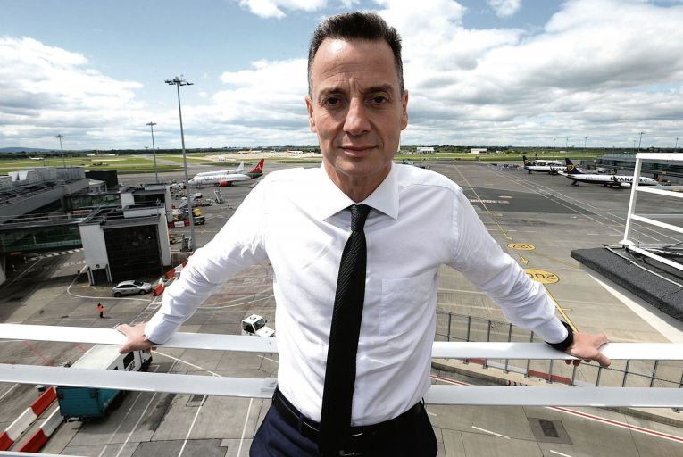 Dalton Philips Chief Executive of the DAA pictured at the Airport.Photo: Justin Farrelly.
