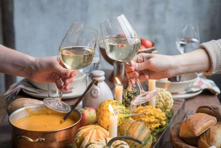 Aromatic white wines are a fantastic accompaniment to autumnal meals