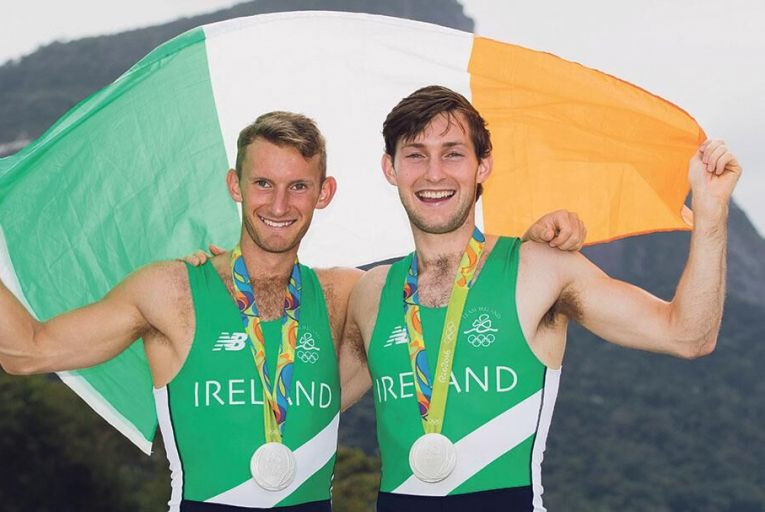 The O'Donovan brothers, Gary and Paul, grabbed a silver medal at the Olympics last year