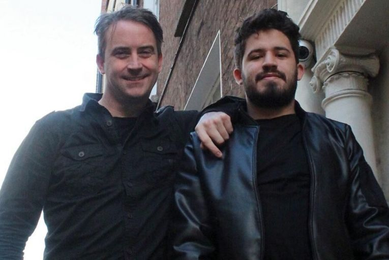Conor Lynch, chief executive,  and Ivan Adriel, head of digital, both at Connector